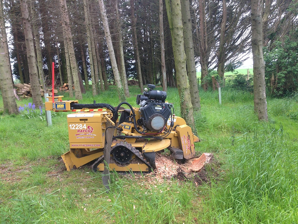 Tree Machinery - Tree Surgeons in Falkirk