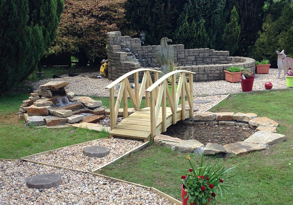 Bridge - Landscaping in Cumbernauld